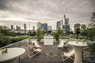 Frankfurt am Main PR & Marketing Event Open Air Location/Outdoor/Beachclub Skyline-Terrasse image 0